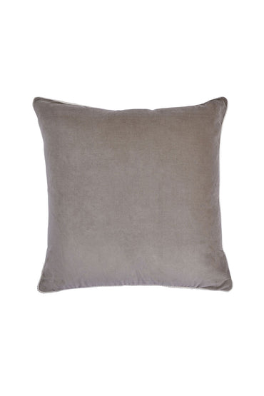 BONNIE AND NEIL VELVET CUSHION BONE 50CM