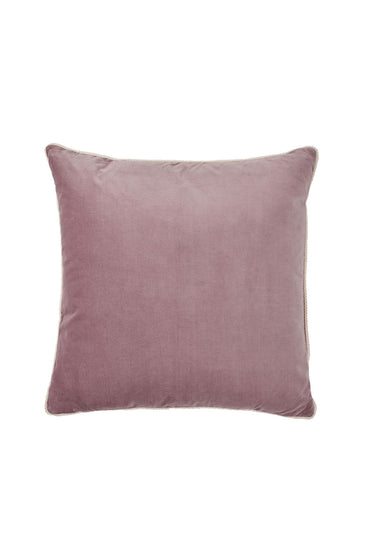 BONNIE AND NEIL VELVET CUSHION MUSK 50CM