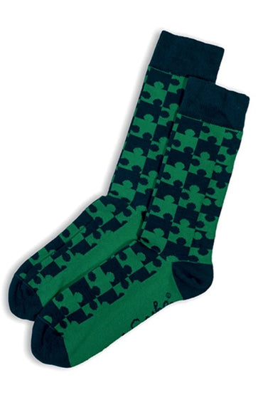"OTTO & SPIKE ""JIGSAW"" SOCKS"
