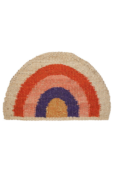 LANGDON RAINBOW DOORMAT SUNSET