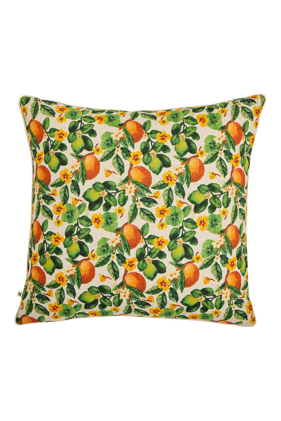 BONNIE AND NEIL ORANGES CUSHION MULTI 60CM