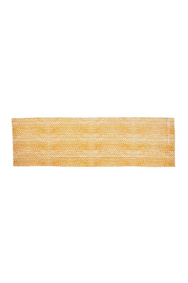 BONNIE & NEIL TINY WAVES TABLE RUNNER GOLDEN