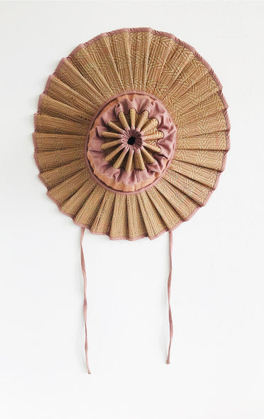 LORNA MURRAY FLORES BUNGALOW CAPRI HAT DUSTY PINK