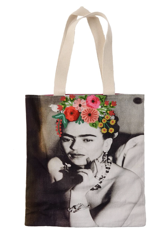 RUBY STAR TRADER FRIDA EVENING DRESS  CANVAS TOTE BAG