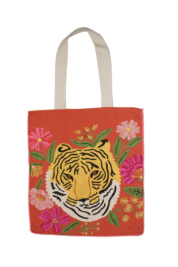 TIGER PORTRAIT BAG ORANGE