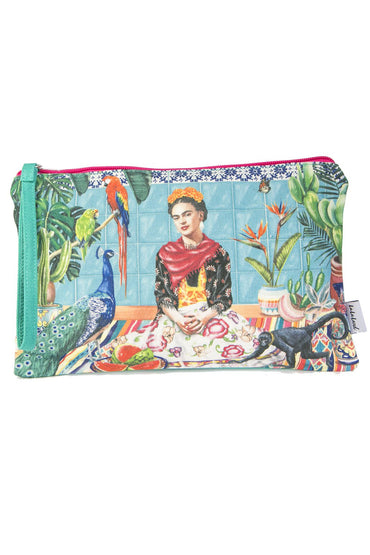 LA LA LAND FRIDA'S PARADISE CLUTCH PURSE