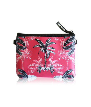 LIBBY WATKINS BELT BAG BAG IN BANANA BUNGALOW - CORAL