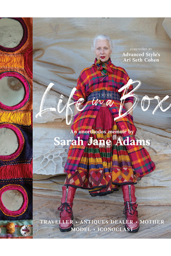 LIFE IN A BOX - SARAH JANE ADAMS