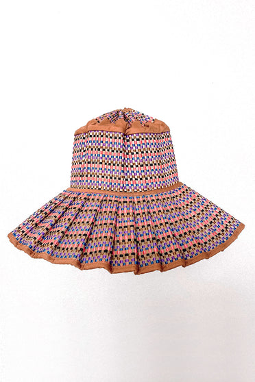 LORNA MURRAY EGYPT CAPRI HAT TAN MULTI