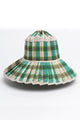 LORNA MURRAY FERNTREE CAPRI HAT GREEN PLAID