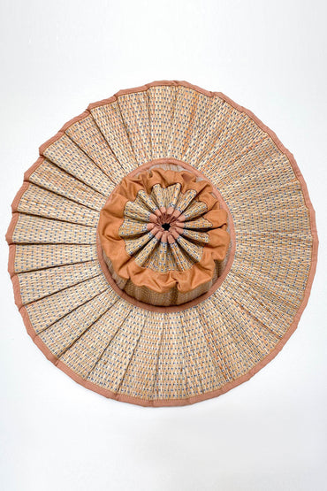 LORNA MURRAY PLANTATION CAPRI HAT CARAMEL