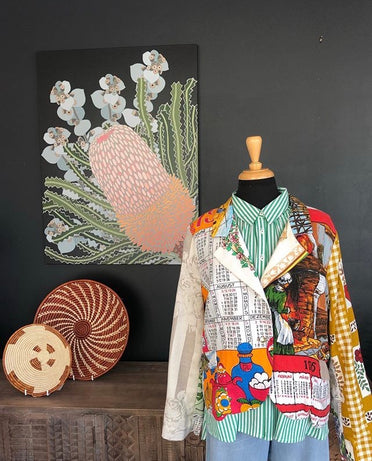 LOST & FOUND BANKSIA BEAUTY CANVAS