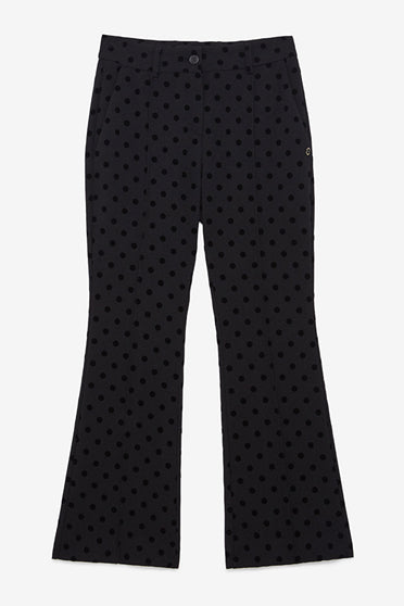 ottodame-EP8262-black-polka-dot-flared-pant