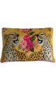 RUBY STAR TRADERS CHEETAH 40 X 60 CUSHION YELLOW