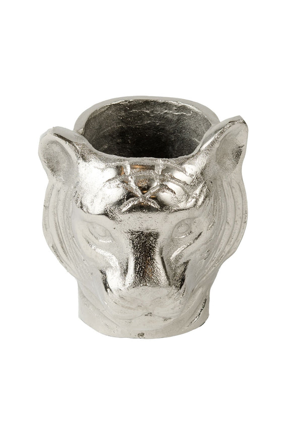 RUBY STAR TRADERS TIGER VASE RAW NICKEL