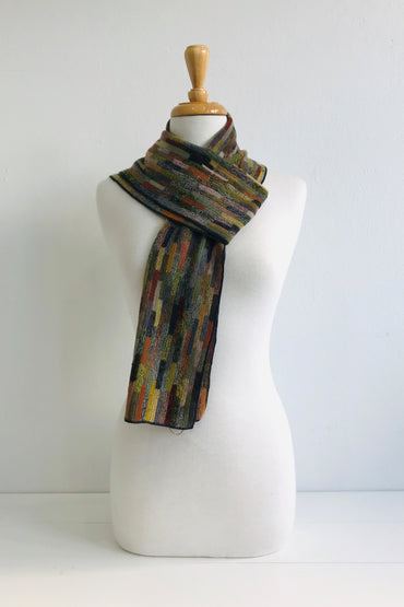 SOPHIE DIGARD VOLC WOOL SCARF 25X140CM