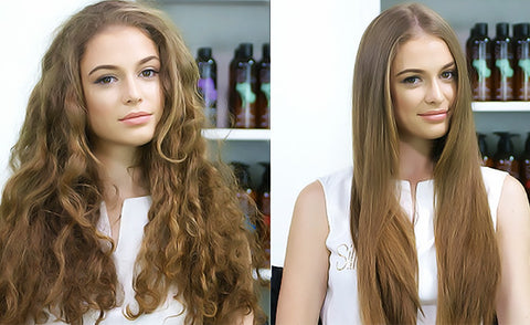Which Way Is Better To Straighten Natural Hair Without Damage