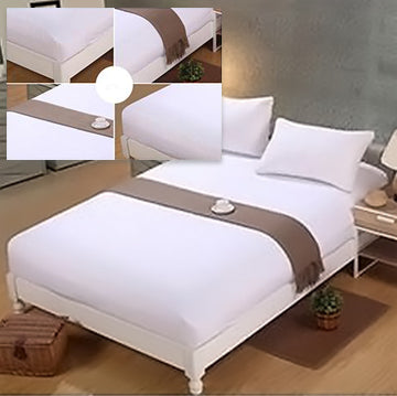 6-Piece Luxury Soft 100% Bamboo Bed Sheet Set in 12 Colors