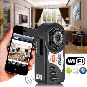 Infrared Night Vision Motion Detection Spy Camera.  Apleok Mini SpyCam!