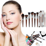 Professional High Quality New Rosewood Makeup Cosmetic Brushes 11 Piece Set