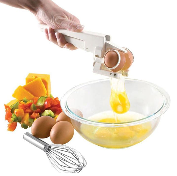 EZ Handheld Egg Cracker