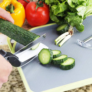 SMART 2-in-1 Knife & Cutting Board