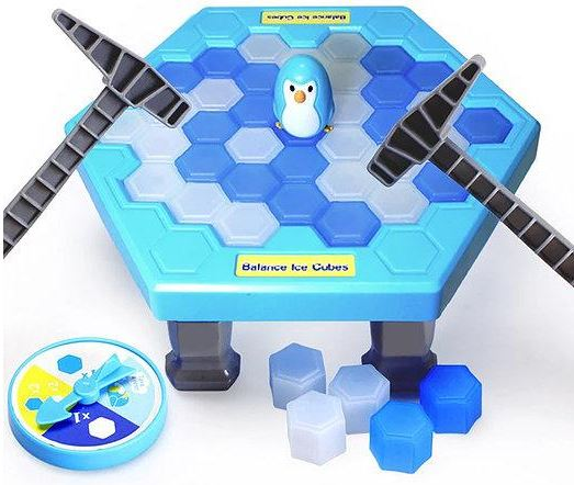 Save Mr. Penguin Table Game