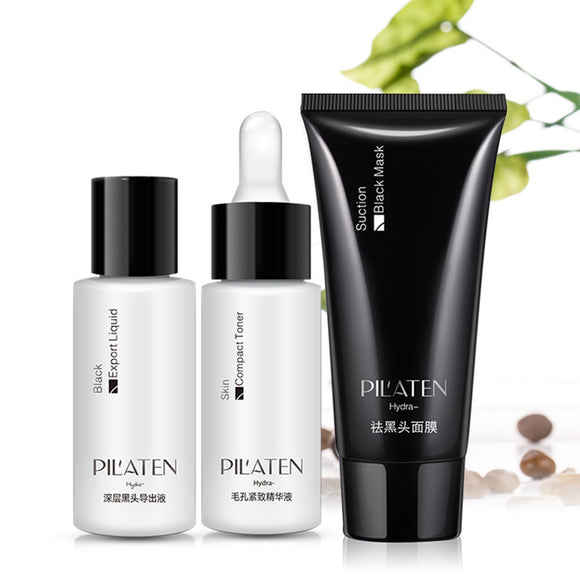 AMAZING TREATMENT THAT REMOVES BLEMISHES, ACNE, AND BLACKHEADS FAST - PILATEN 3pcs/ Pack