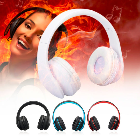 New Innovative Foldable Bluetooth Wireless Stereo Earphone With A Microphone Audio Headset