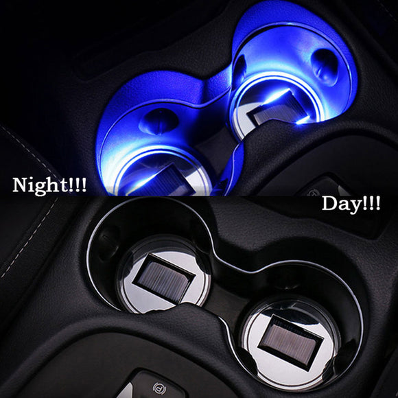 UNIVERSAL SOLAR POWERED LED CUP MAT