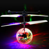 LED Flashing Remote Controlled Flying Ball