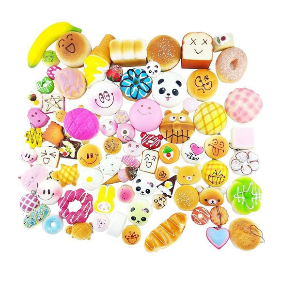 10 Pcs Squishy Charm