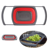 Innovative Collapsible Silicone Colander