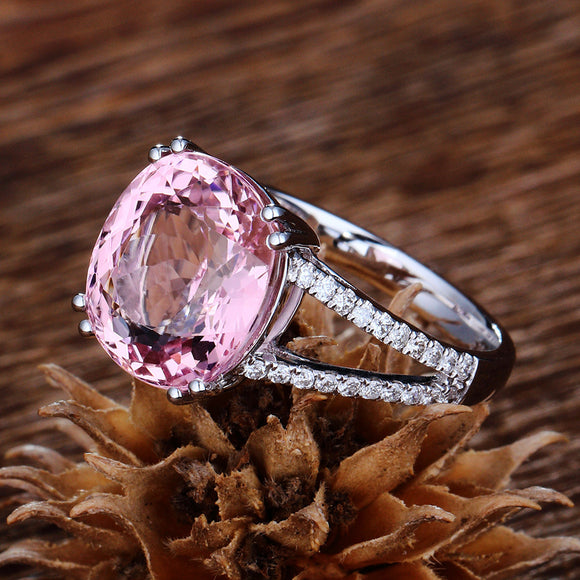 Pink Sapphire Love Protection Ring