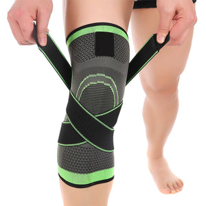 Adjustable 3D Knee Brace Support Sleeve