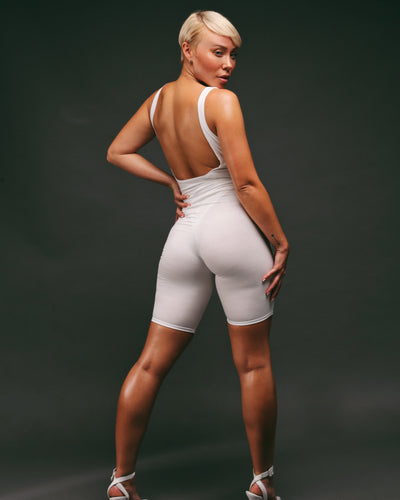 THE CYCLE SHORT // MILK WHITE