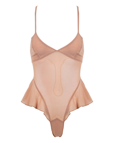 SHEER RETRO TEDDY // LICK