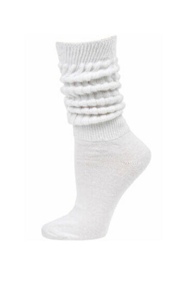 THE SLOUCH SOCK // WHITE