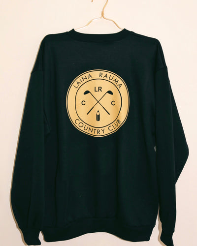 LAINA RAUMA COUNTRY CLUB CREWNECK // NAVY / BEIGE
