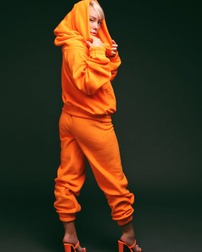 TEDDY 24 SWEATER // ORANGE