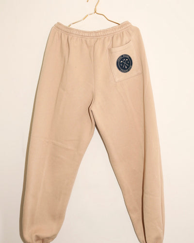 LAINA RAUMA COUNTRY SWEATPANTS // BEIGE / NAVY
