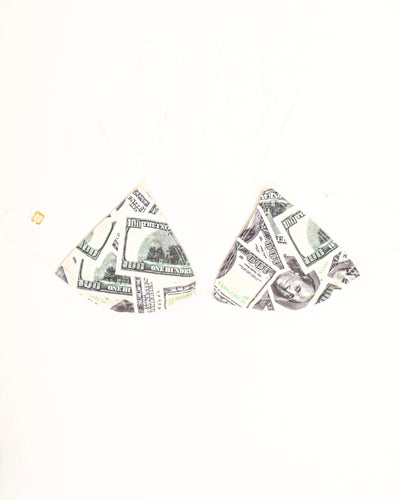 GLASS TRIANGLE TOP // DOLLAR BILLS