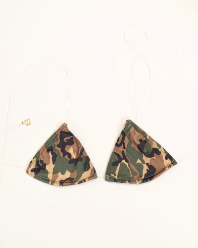 GLASS TRIANGLE TOP // CAMOUFLAGE