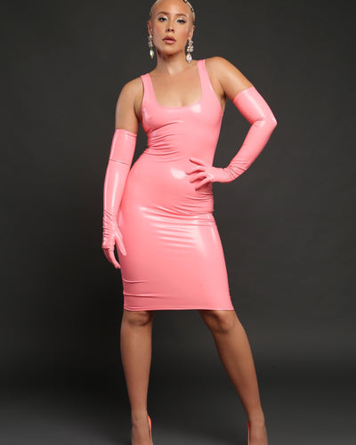 BETTY // PINK CORAL LATEX