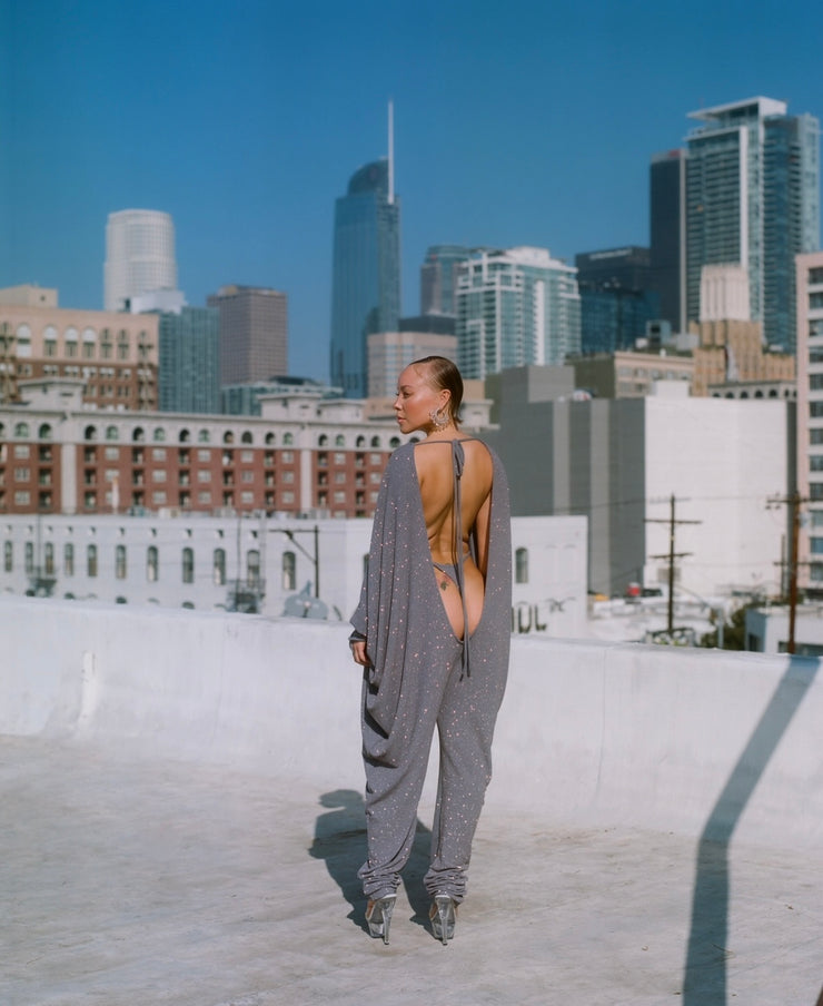ULTRA LOW BAT-WING JUMPSUIT // DREAM ON