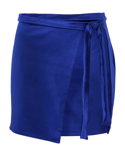 THIGH TIE MINISKIRT // BLUE MOON JELLY