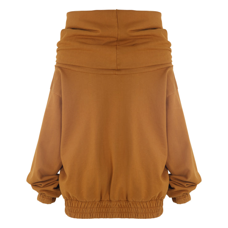 TAKEOFF TEDDY SWEATER // HONEY DIJON