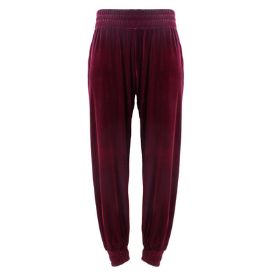 LEISURE LOUNGING JOGGER // BLACK CHERRY