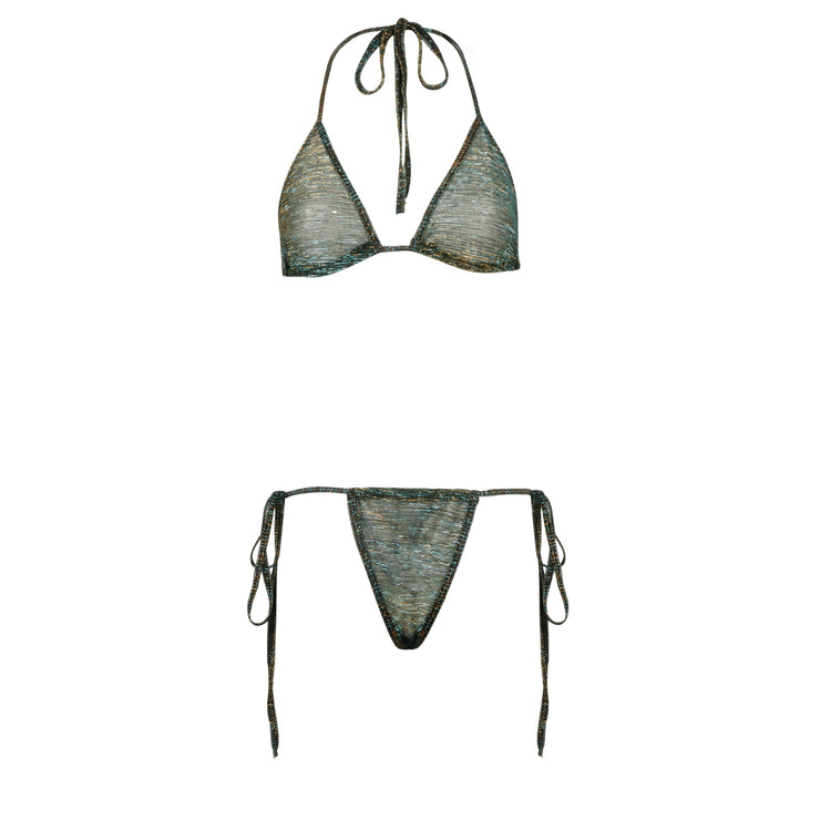 THE SHIMMER BIKINI // PIRANHA