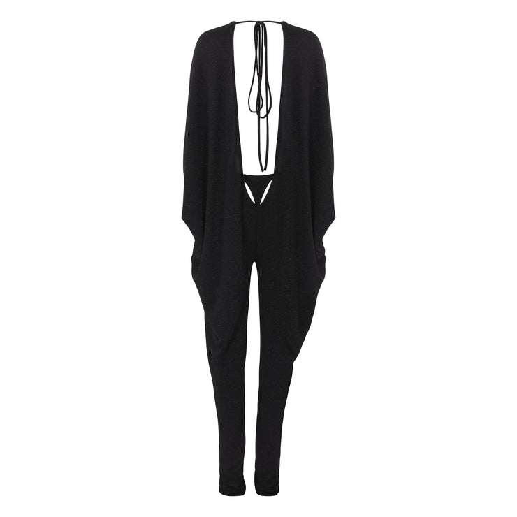 ULTRA LOW BAT-WING JUMPSUIT // LE FREAK